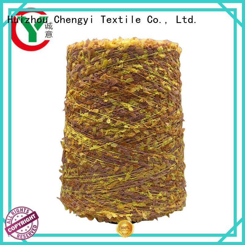 Chengyi butterfly knitting yarn popular wide application
