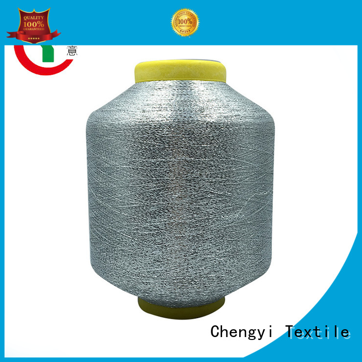 Chengyi metallic yarn hot-sale fast delivery