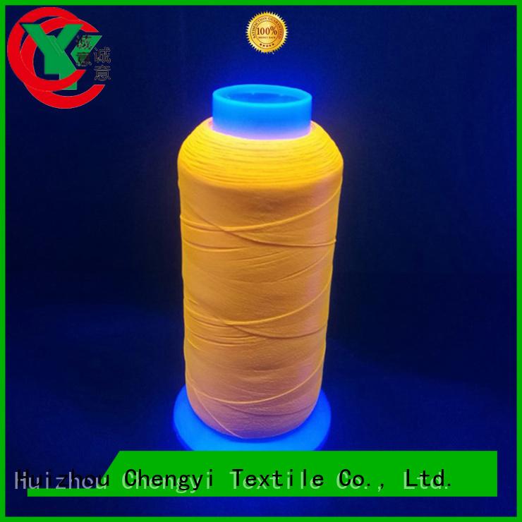 Chengyi custom luminous yarn cheapest price