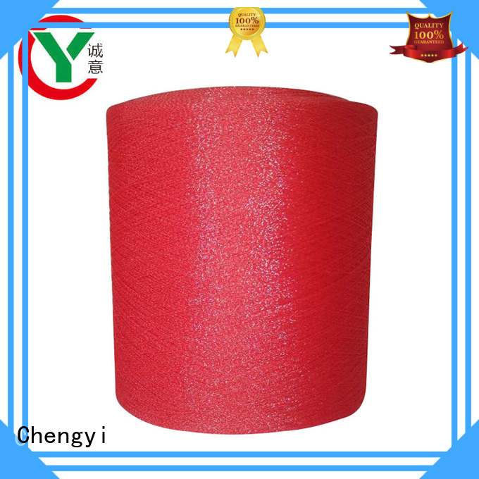 high quality glitter knitting yarn hot for wholesale