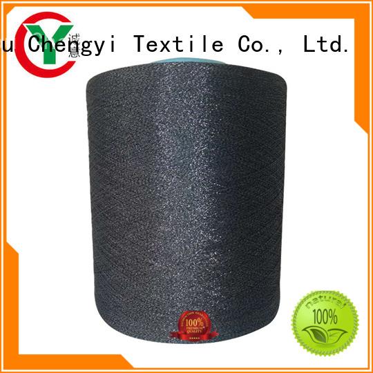 Chengyi glitter knitting yarn popular top brand
