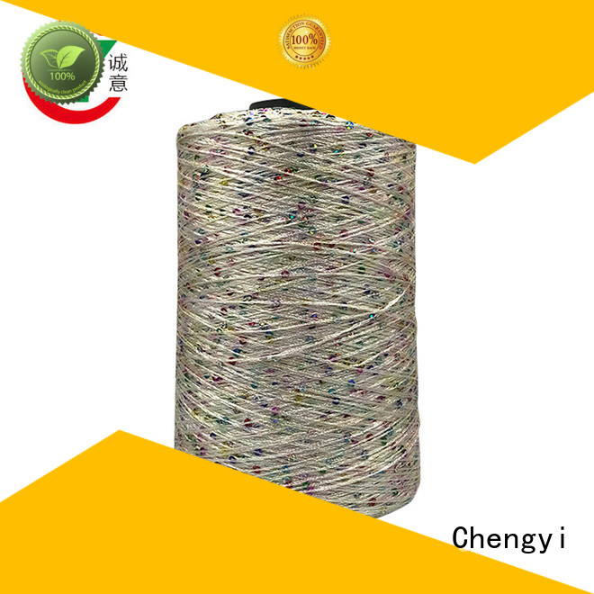 Chengyi hot-sale sequin yarn best light-weight