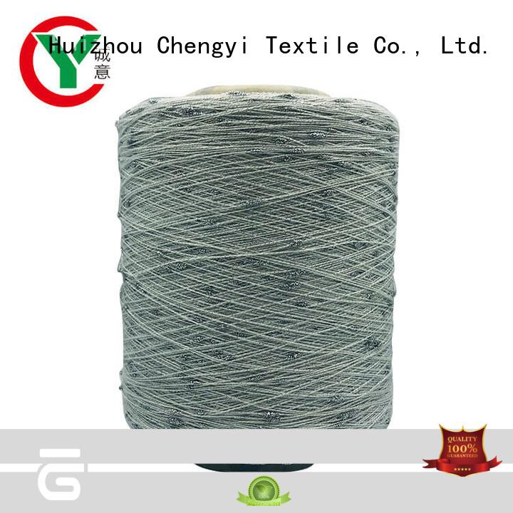 custom dot yarn 100% polyester for knitting