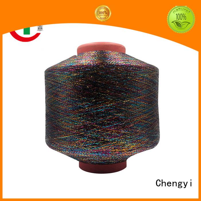 Chengyi metallic knitting yarn hot-sale