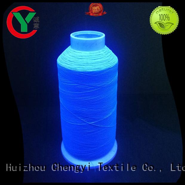 Chengyi glow yarn cheapest price cloths knitting