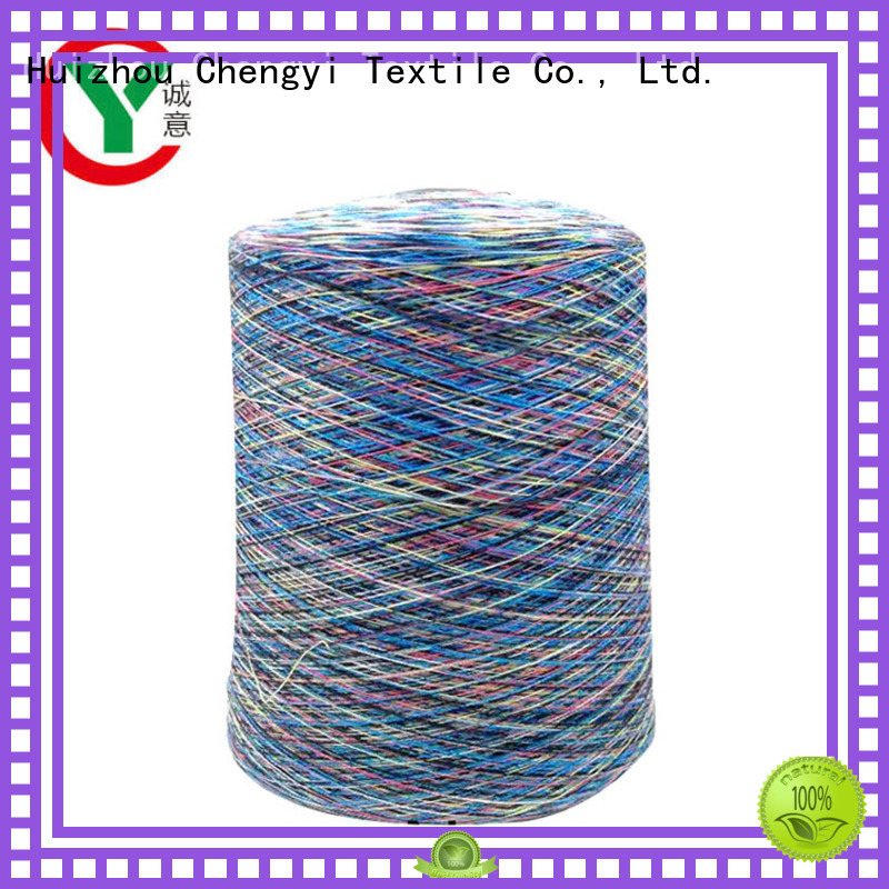 bulk supply space dyed polyester yarn high-quality for wholesale