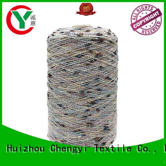 Chengyi custom dot fancy yarn from best factory