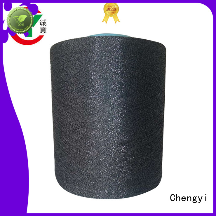 Chengyi factory price glittery yarn hot for wholesale