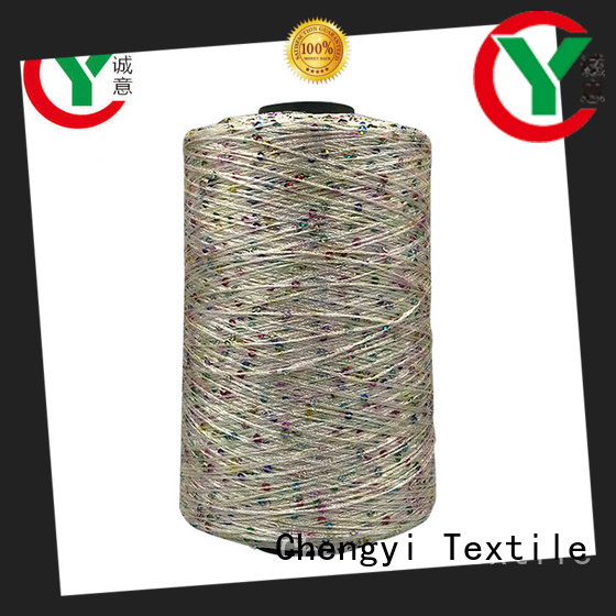Chengyi cheapest price sequin yarn manufacturers high-quality light-weight