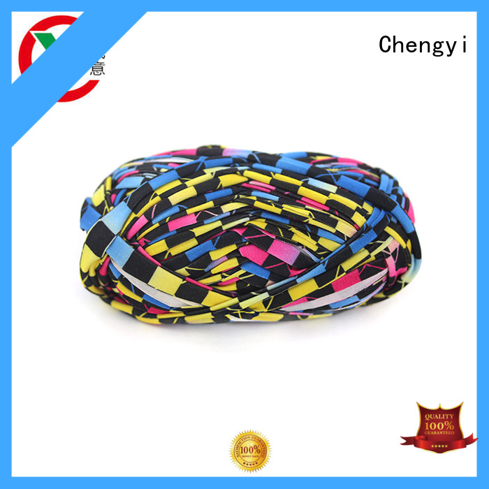 Chengyi hand knitting yarn factory price fast delivery