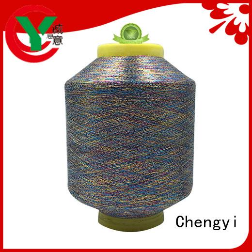 Chengyi promotional metallic yarn popular