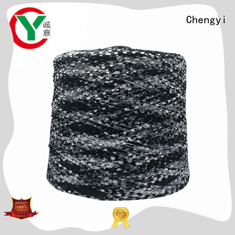 bulk brushed polyester yarn factory price from best factory