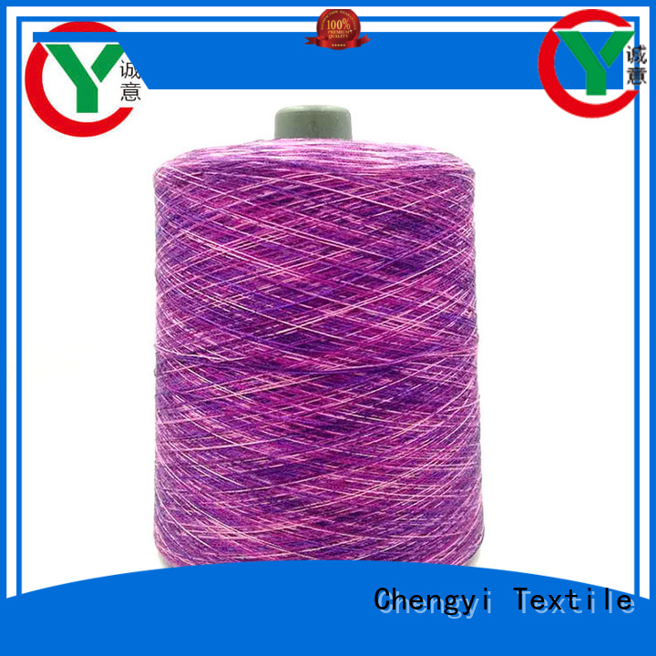 Chengyi rainbow knitting yarn high-quality fast delivery