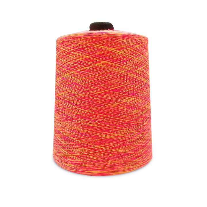 Colorful Space Dyed Rainbow Yarn