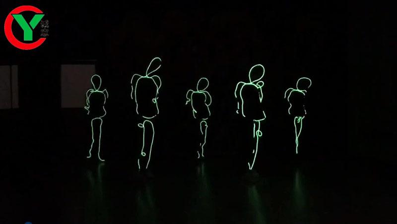 Свечение в темноте видео