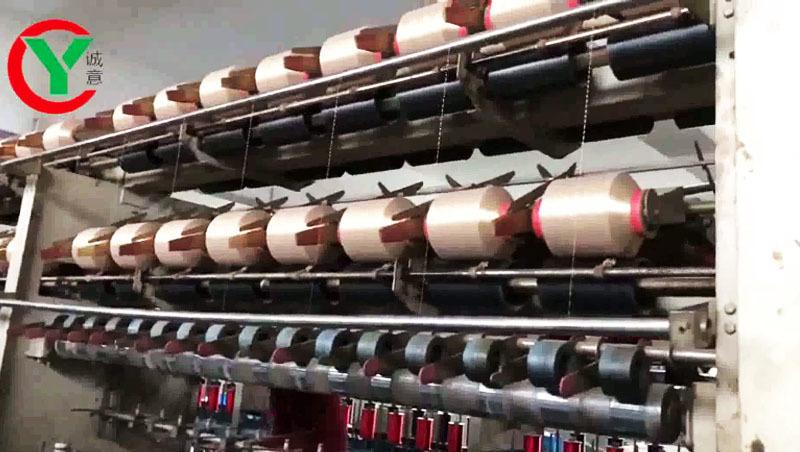 Машина для прядения металлической пряжи