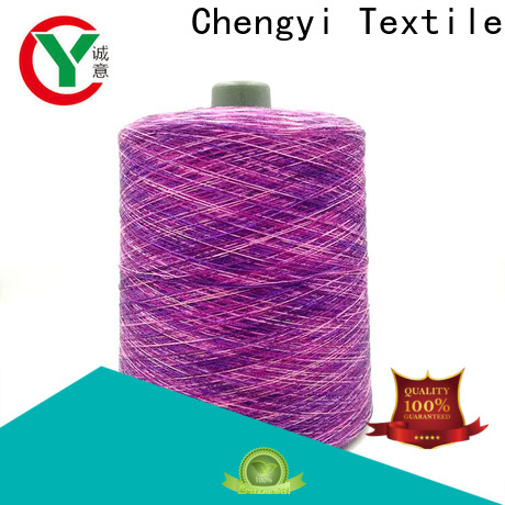 bulk supply rainbow knitting yarn high-quality best factory