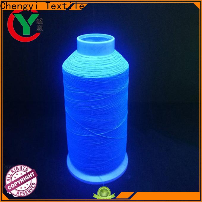 Chengyi luminous yarn cheapest price top brand