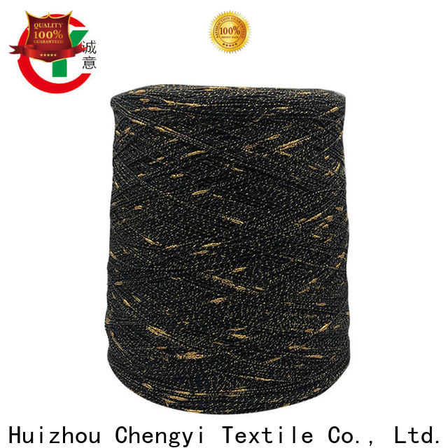 Chengyi colorful dot knitting yarn top-selling from best factory