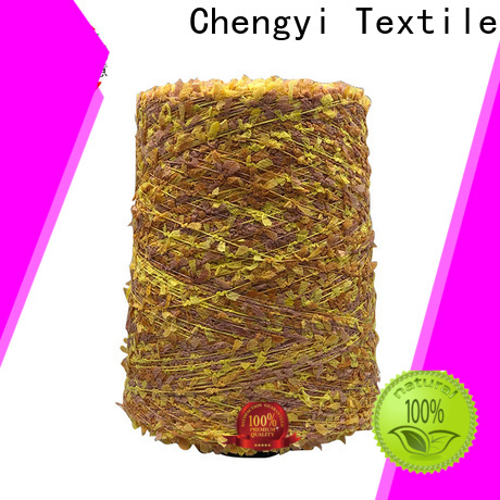 Chengyi colorful butterfly knitting yarn popular fast delivery