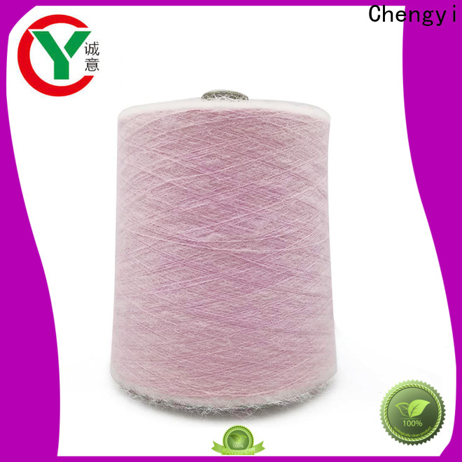 Chengyi hot-sale knitting mohair yarn light-weight fast delivery