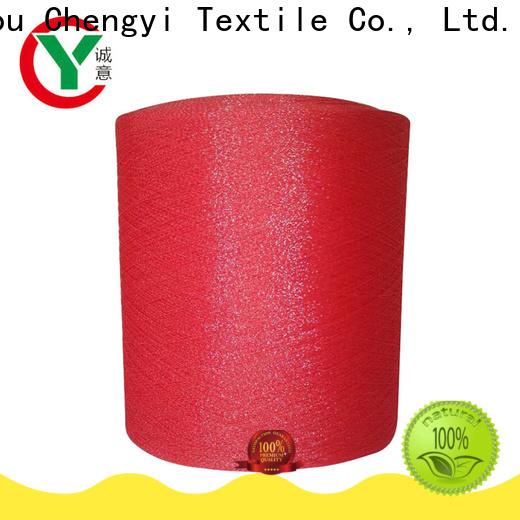 Chengyi high quality glittery yarn popular for wholesale