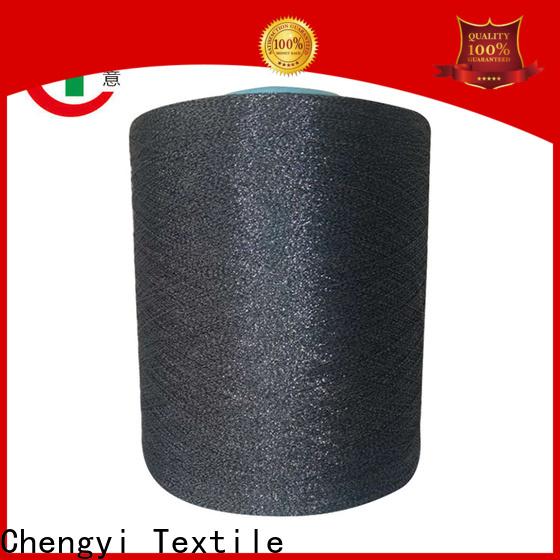 Chengyi high quality glitter knitting yarn hot for wholesale