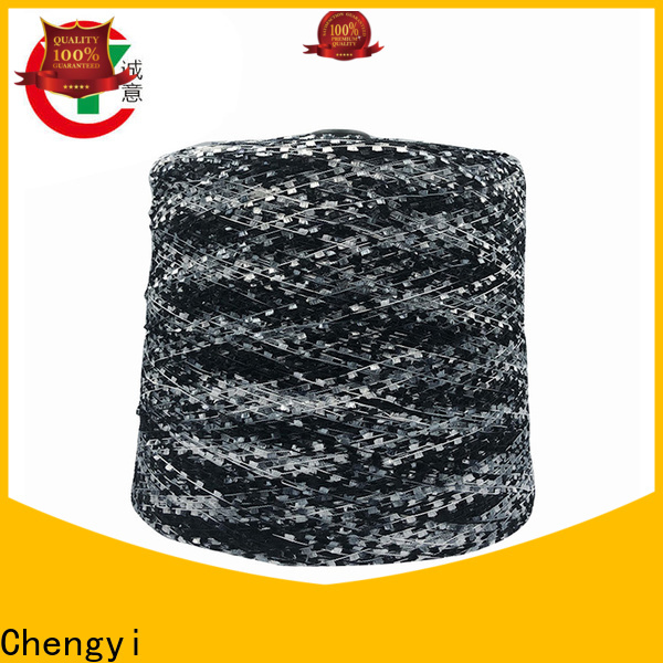 custom brushed polyester yarn chic fast delivery