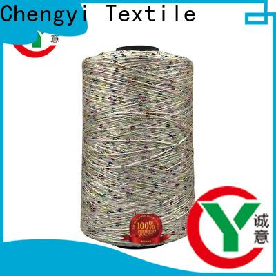 Chengyi professional sequin knitting yarn best OEM