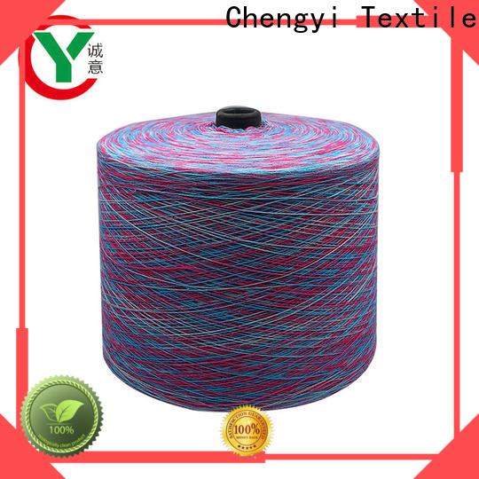 Chengyi bulk supply rainbow yarn hot-sale for wholesale