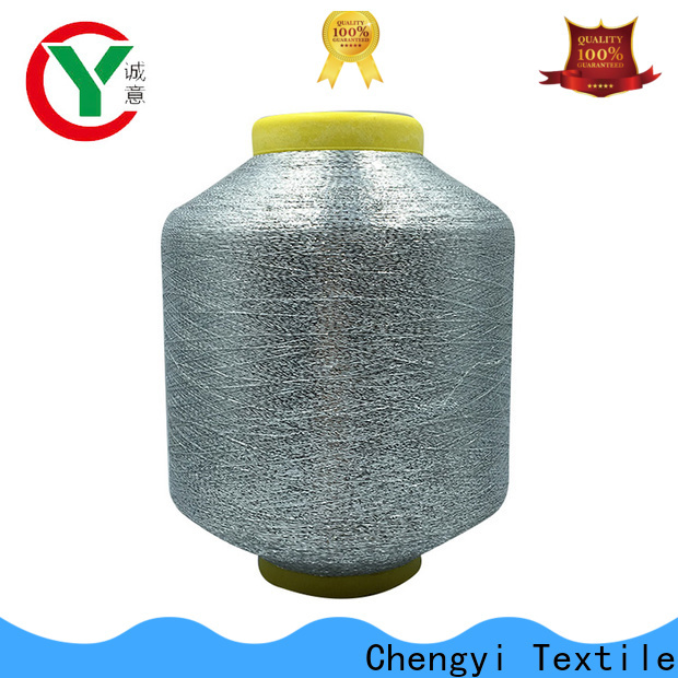 Chengyi metallic knitting yarn popular high quality