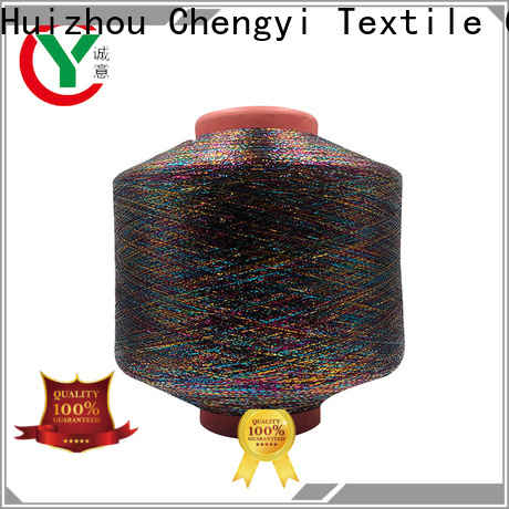 Chengyi professional metallic knitting yarn durable fast delivery