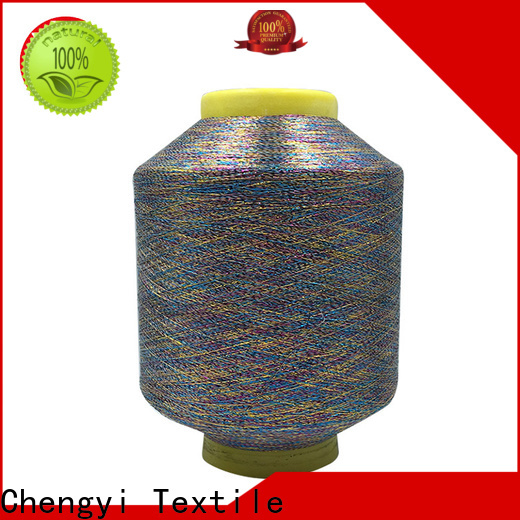 wholesale metallic knitting yarn durable