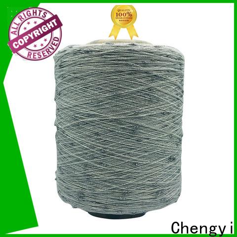 Chengyi dot knitting yarn 100% polyester for knitting