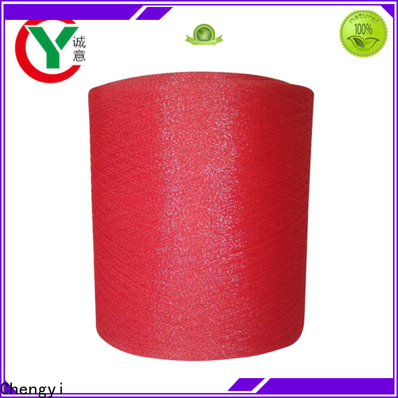 factory price glitter knitting yarn bulk fast delivery