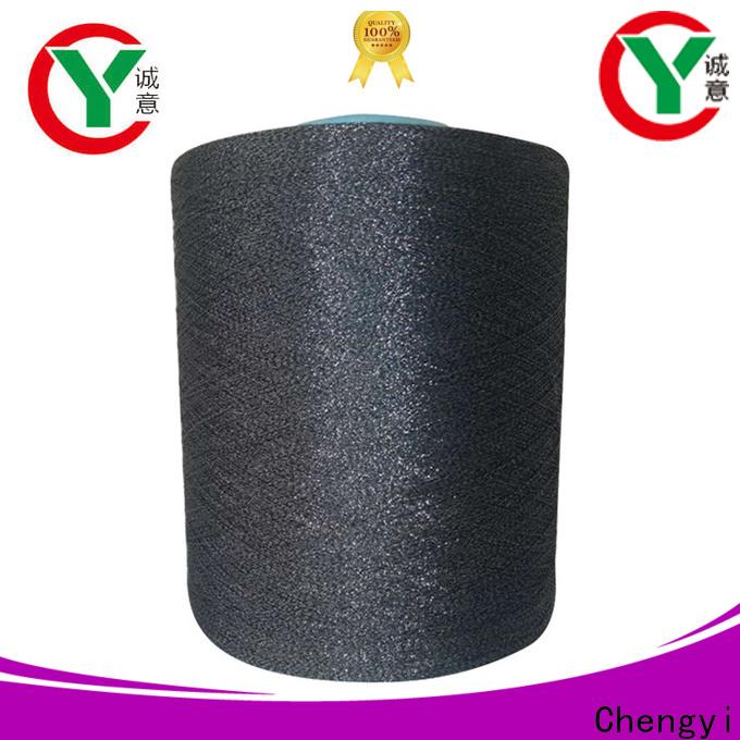 Chengyi factory price glitter knitting yarn popular for wholesale