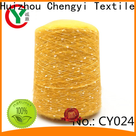 Chengyi brushed polyester yarn factory price for wholesale