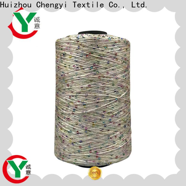 Chengyi sequin wool yarn top light-weight