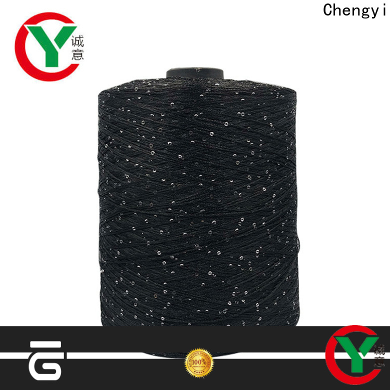 Chengyi professional sequin yarn manufacturers top light-weight
