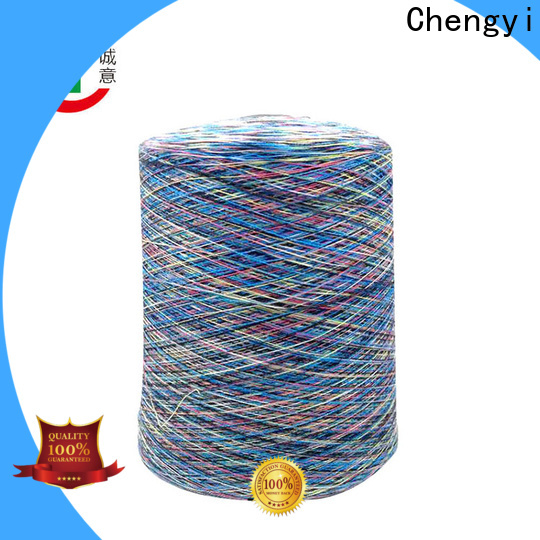 Chengyi bulk supply space dyed polyester yarn high-quality for wholesale