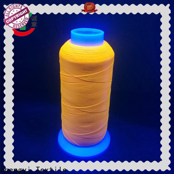 colorful glow yarn high-performance