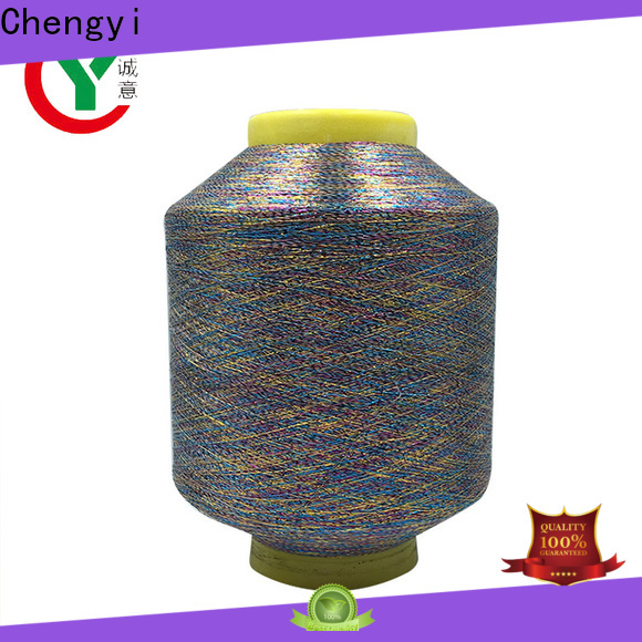 Chengyi metallic yarn popular factory direct supply
