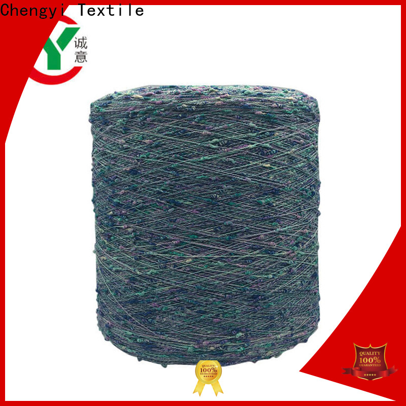 wholesale dot knitting yarn 100% polyester for knitting