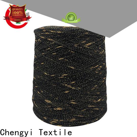 Chengyi custom dot fancy yarn high-quality for knitting