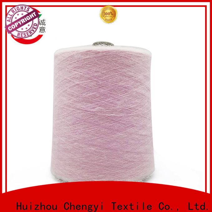 Chengyi knitting mohair yarn fast delivery