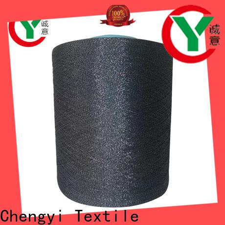 Chengyi glittery yarn bulk top brand