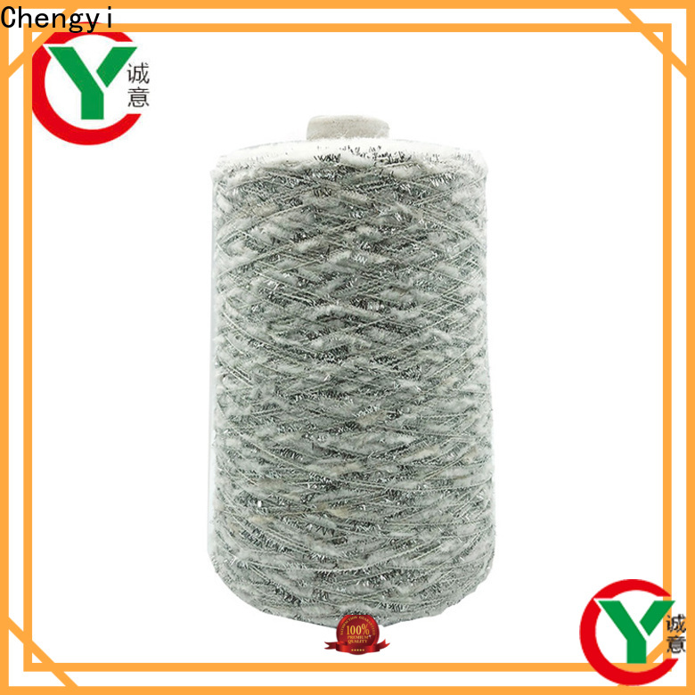 Chengyi bulk brushed polyester yarn best quality for wholesale