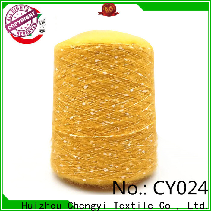 Chengyi brush yarn factory price from best factory