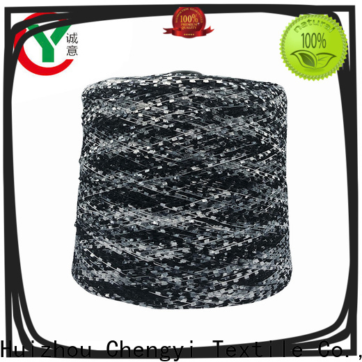 Chengyi free sample brush yarn factory price for wholesale