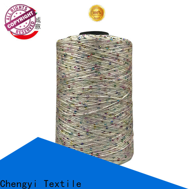 Chengyi sequin wool yarn high-quality for wholesale
